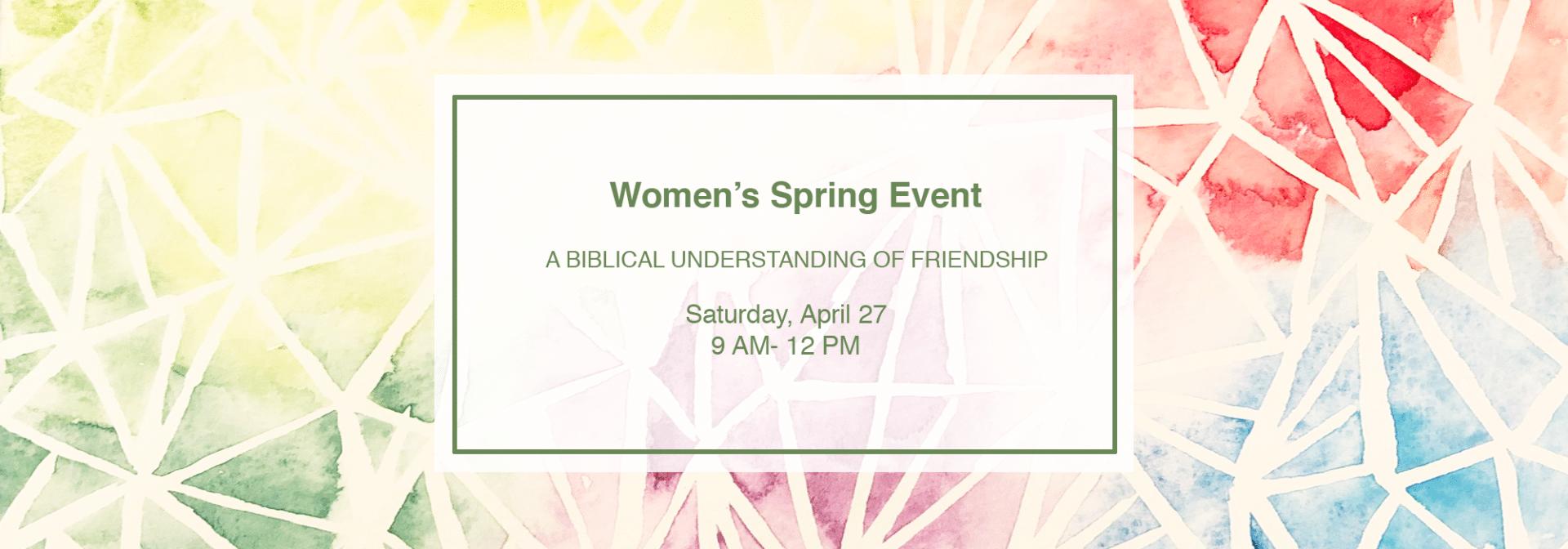 A Biblical Understanding of Friendship