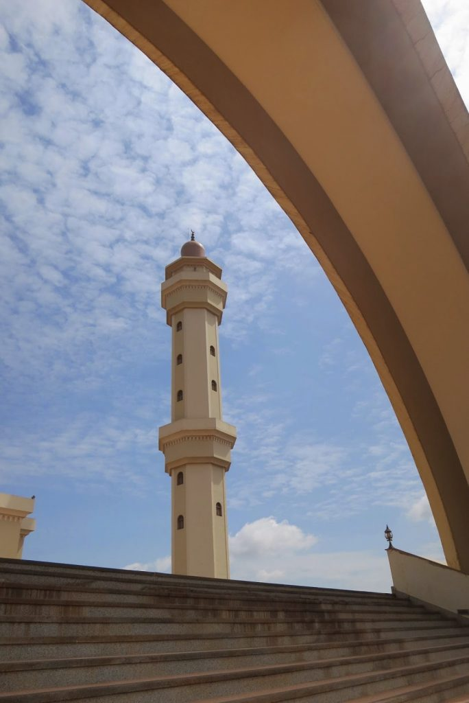 Visiting a Mosque in Kampala