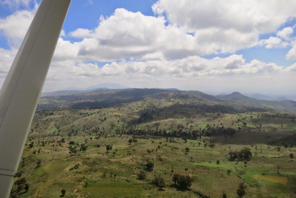 Aerial view of Nagishot