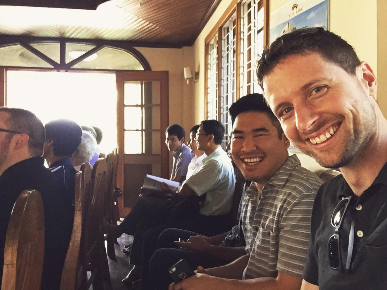 Tim and Mat in Myanmar: Mingalaba