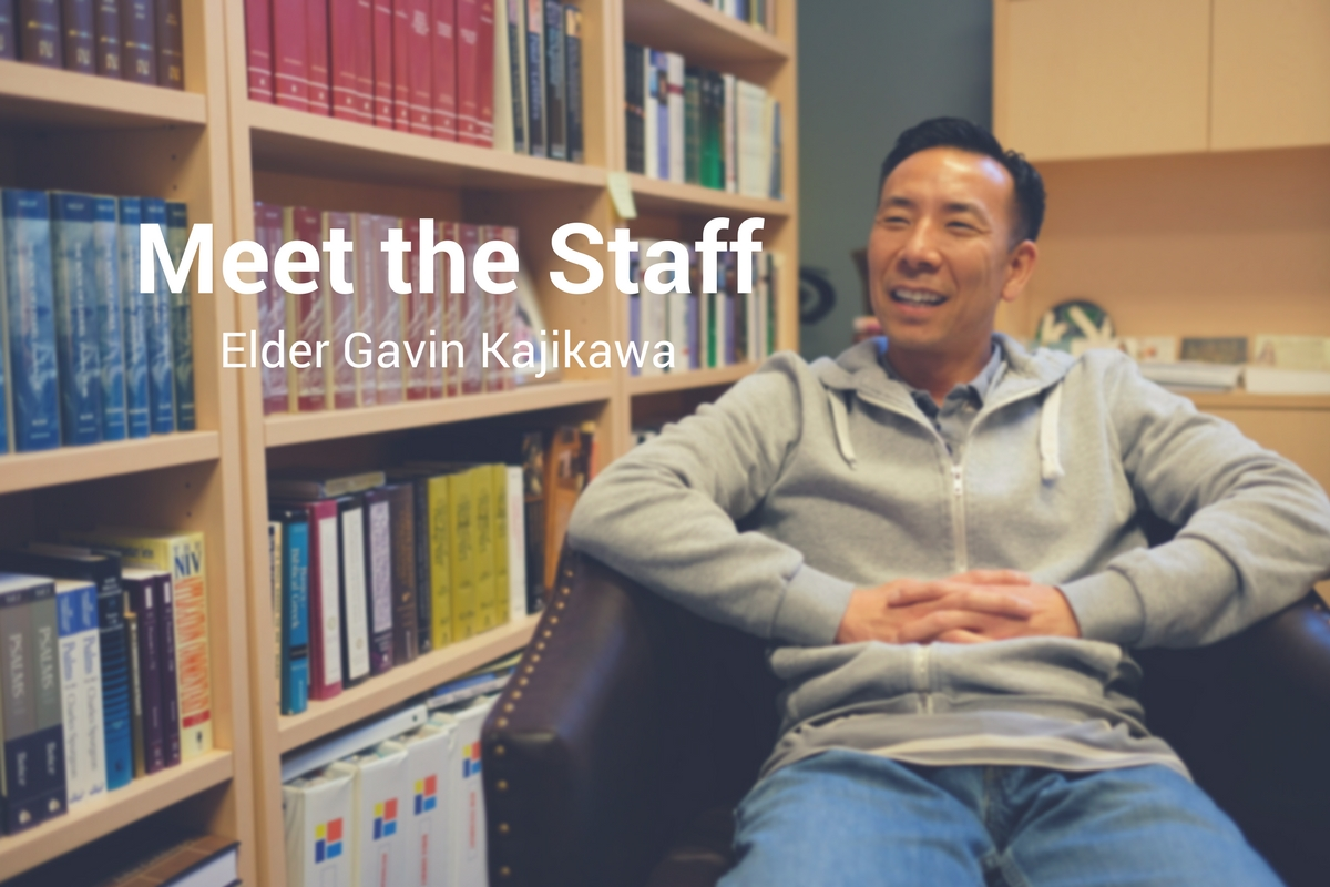 Meet the Staff: Elder Gavin Kajikawa