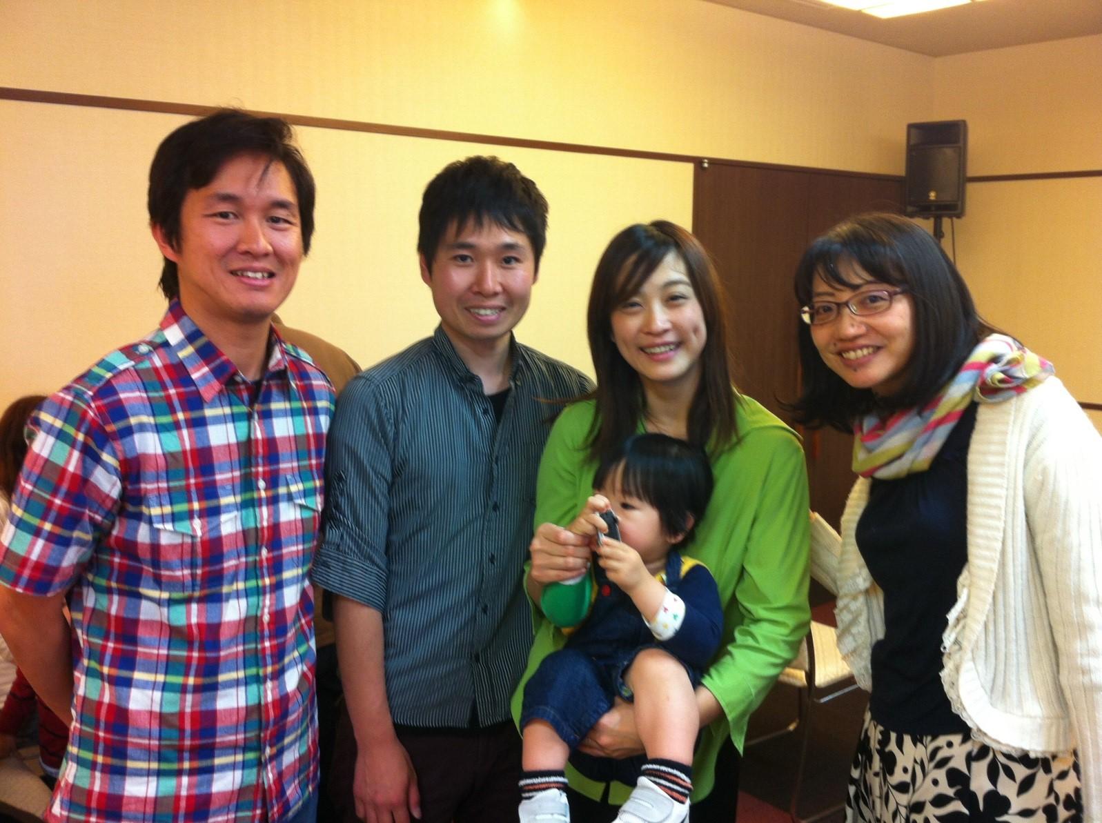 Kim, Gavin, and Hide in Japan: Experiencing More Grace