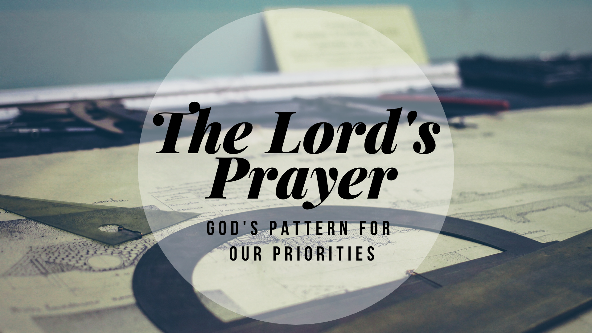 Forgive Us Our Debts (Matthew 6:12)
