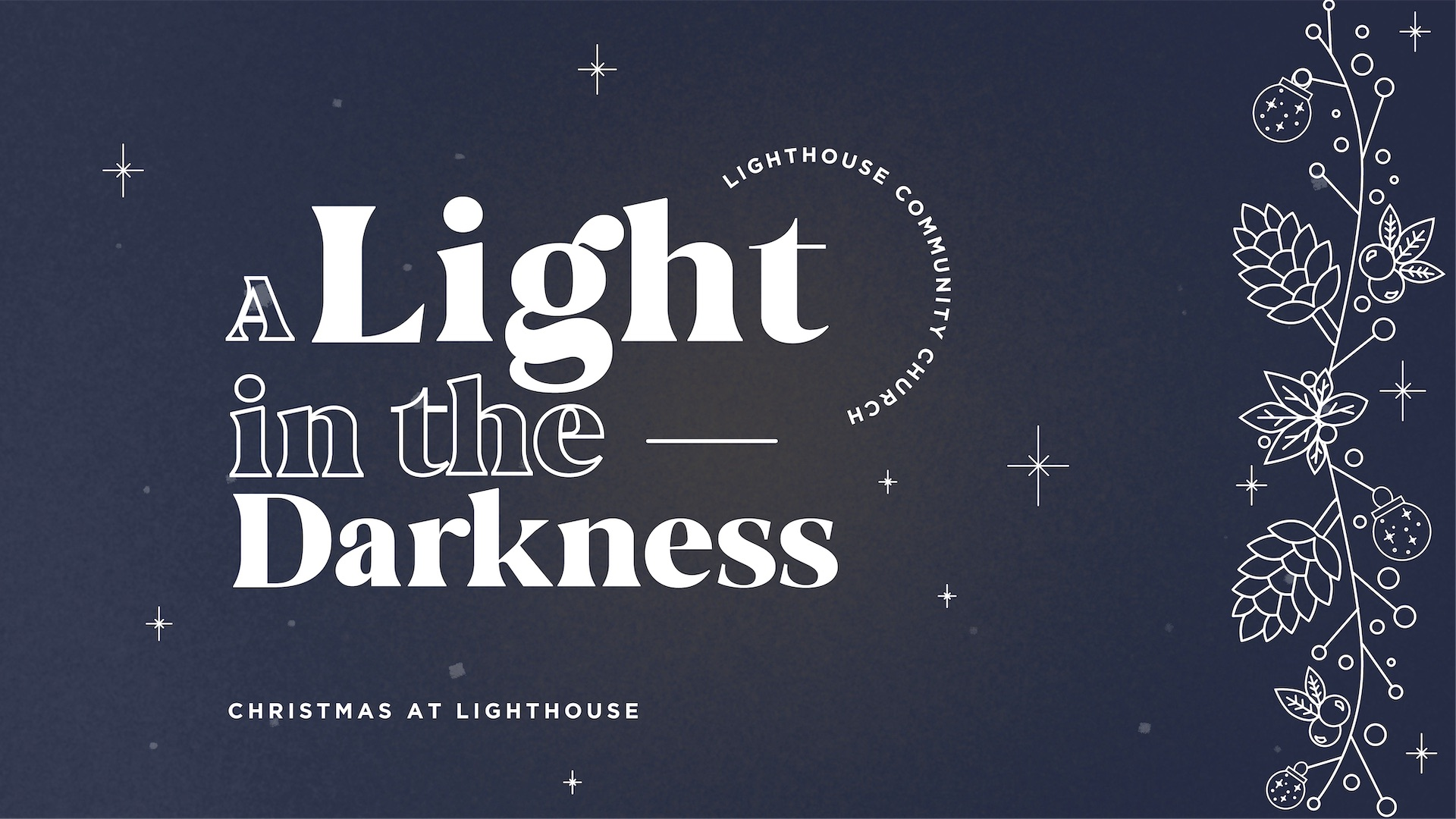 A Light That Overcomes the Darkness (John 1:4-5)