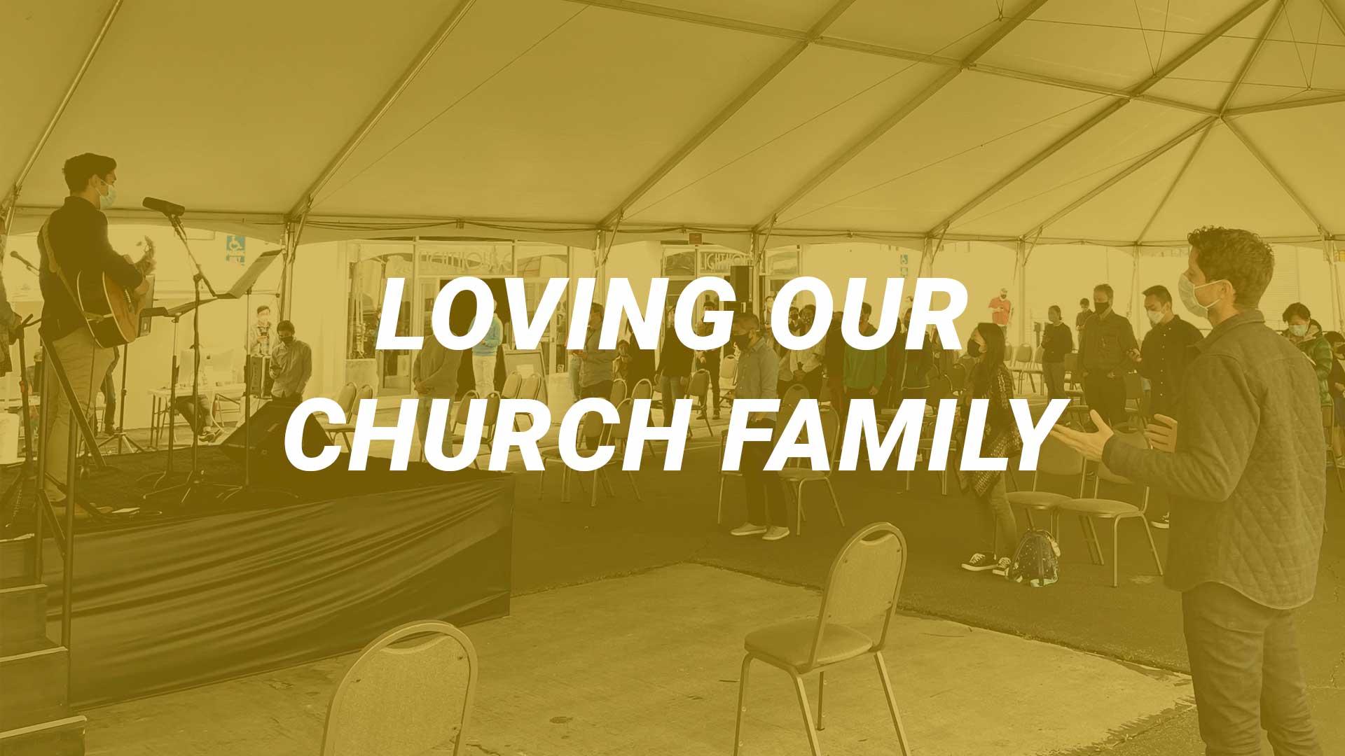 Loving our Family (1 John 4:7-12)