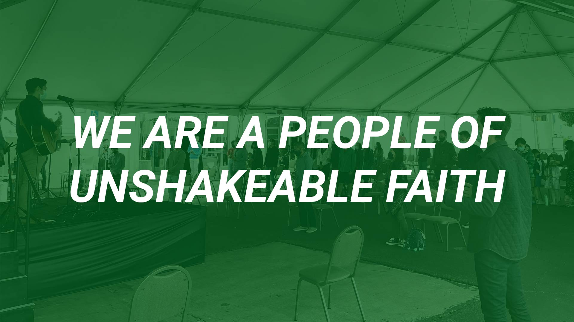 We Are a People of Unshakeable Faith (2 Corinthians 5:1-10)