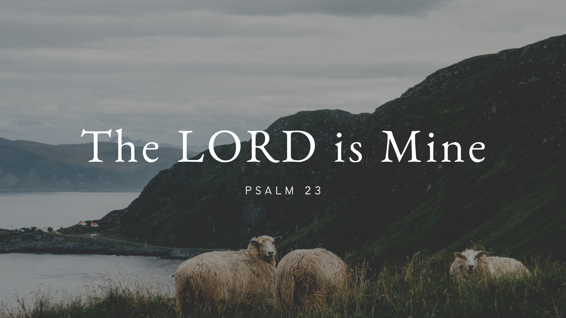 The LORD is Mine (Psalm 23)