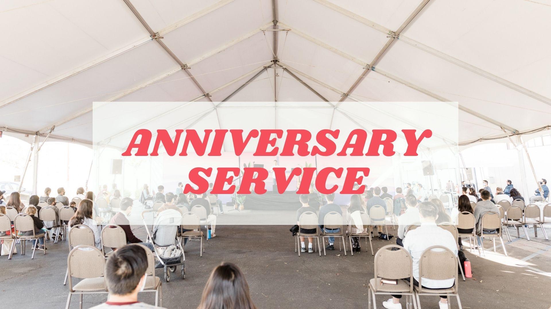 Anniversary Service 2021