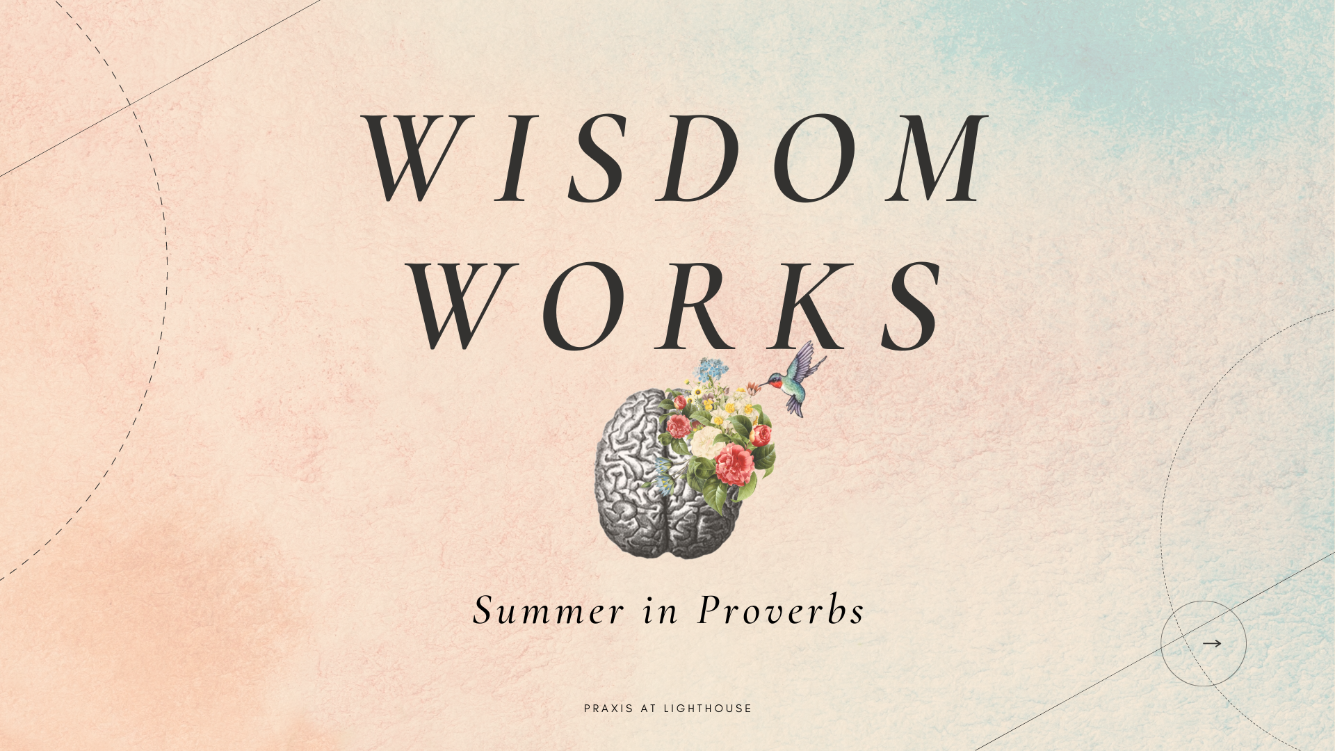 Wisdom and Words (Selected Proverbs)